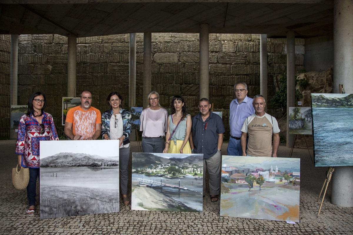 Concurso de Pintura ao Ar Livre António Fernández acolheu 52 pintores de diferentes origens