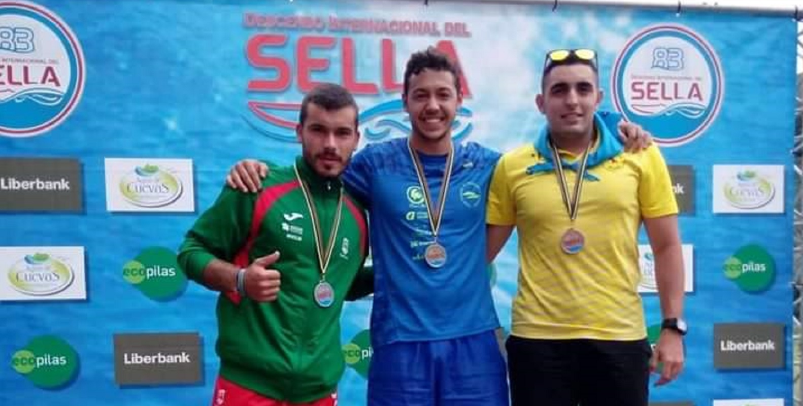 Vianense Sérgio Maciel ganha a prata no Descenso del Sella, nas Astúrias