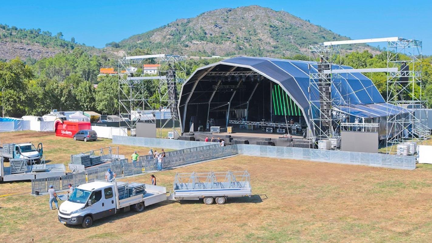 Festival de Vilar de Mouros começa esta 5ªfeira com mais um palco e mais área de lazer