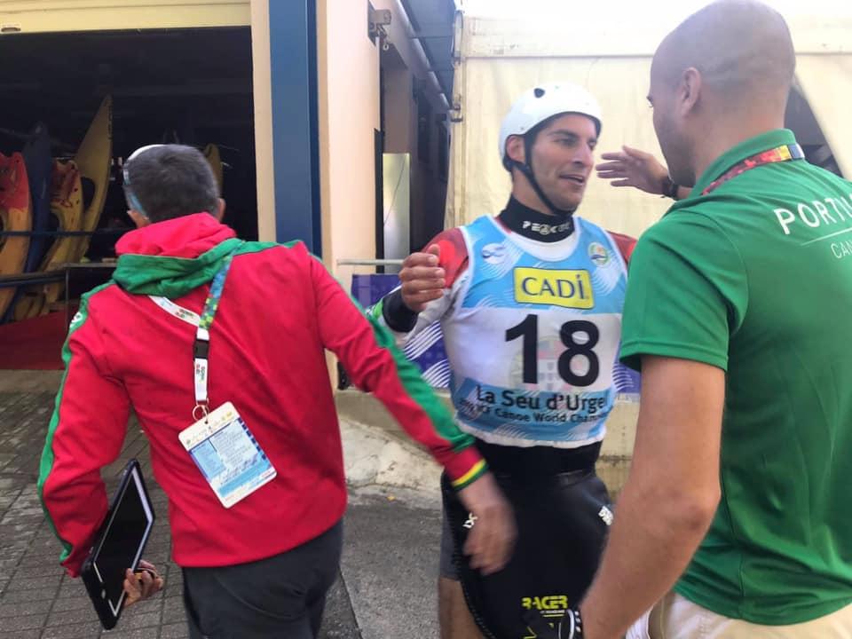 """Antoine Launay """"orgulhoso"""" com a vaga olímpica em K1 slalom"""