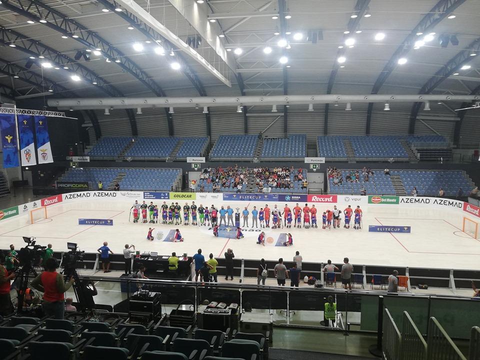 Hóquei em Patins: Juventude de Viana perde com Sporting nas meias finais da Elite Cup