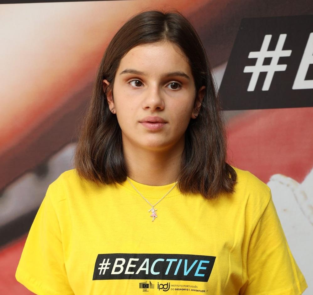 Marta Paço é embaixadora da Semana Europeia do Desporto
