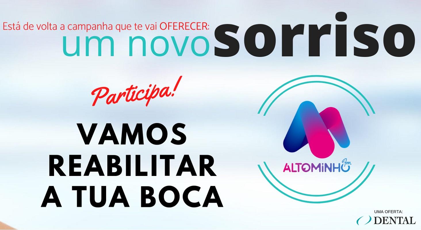 """Rádio Alto Minho faz regressar a campanha """"Ganha um novo sorriso"""""""