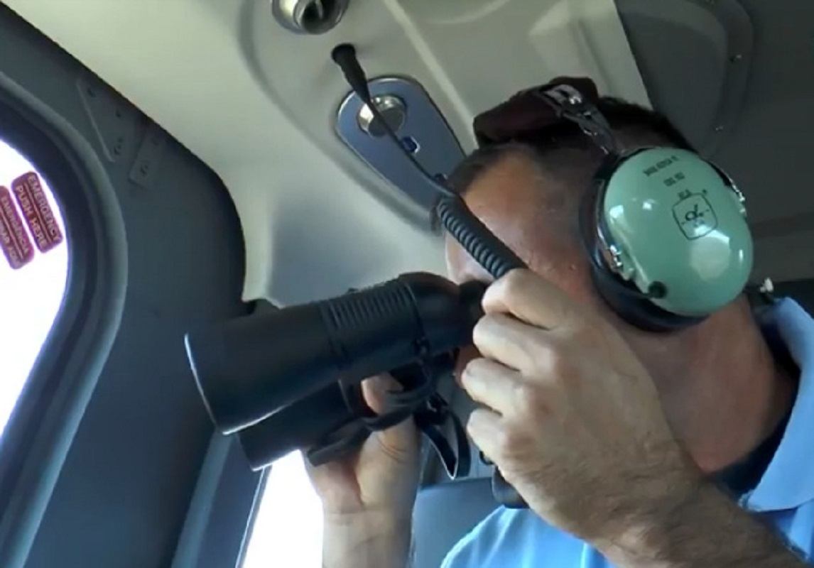 Com vídeo: GNR realizou 1.ª Patrulha Aérea de Vigilância e Fiscalização para a prevenção de Incêndios Florestais