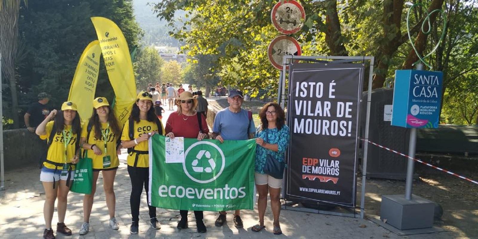 Valorminho recolhe 4,5 toneladas de resíduos recicláveis no Festival de Vilar de Mouros