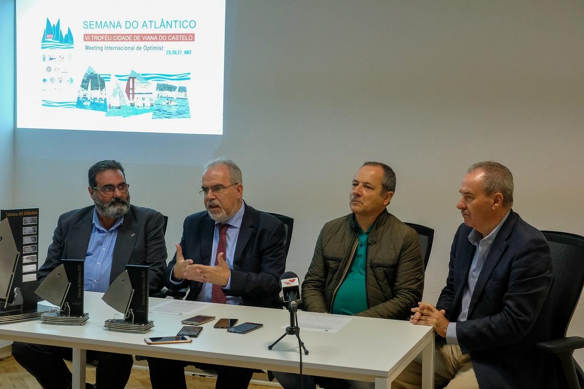 Presidente da Câmara apresenta ao Governo projeto de novo centro de alto rendimento de vela em Viana