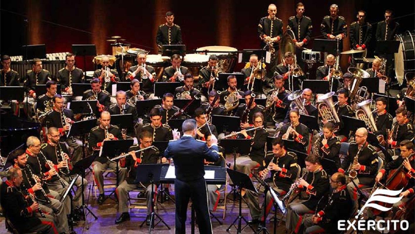 Banda Sinfónica do Exército português atua sexta-feira em Tui
