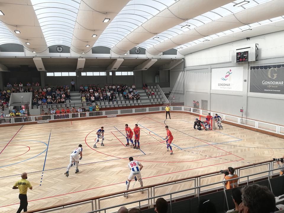 Juventude de Viana empata frente ao FC Porto a três golos no arranque do nacional de hóquei em patins da 1ª divisão