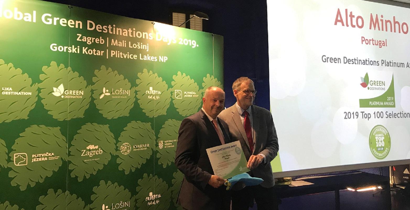 Alto Minho premiado com o galardão de Platina QualityCoast/Green Destinations