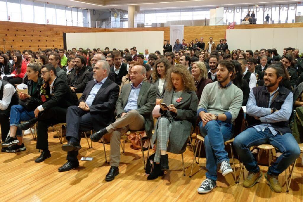 Presidente do IPVC recebeu alunos com discurso de incentivo aos melhores anos das suas vidas