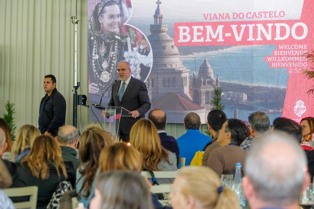 Viana do Castelo acolhe participantes do 48º Congresso Mundial das Academias do Bacalhau