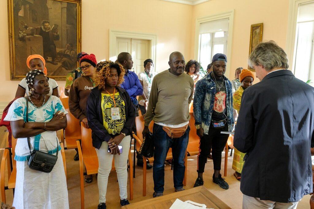 Associação Cultural da região de Cacheu recebida na Câmara Municipal de Viana do Castelo