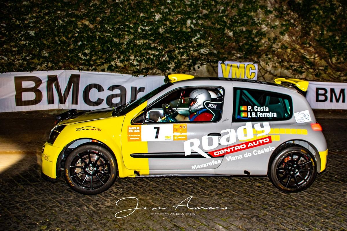 Auto-Shop Racing estreia-se com nova dupla no Rali de Paredes