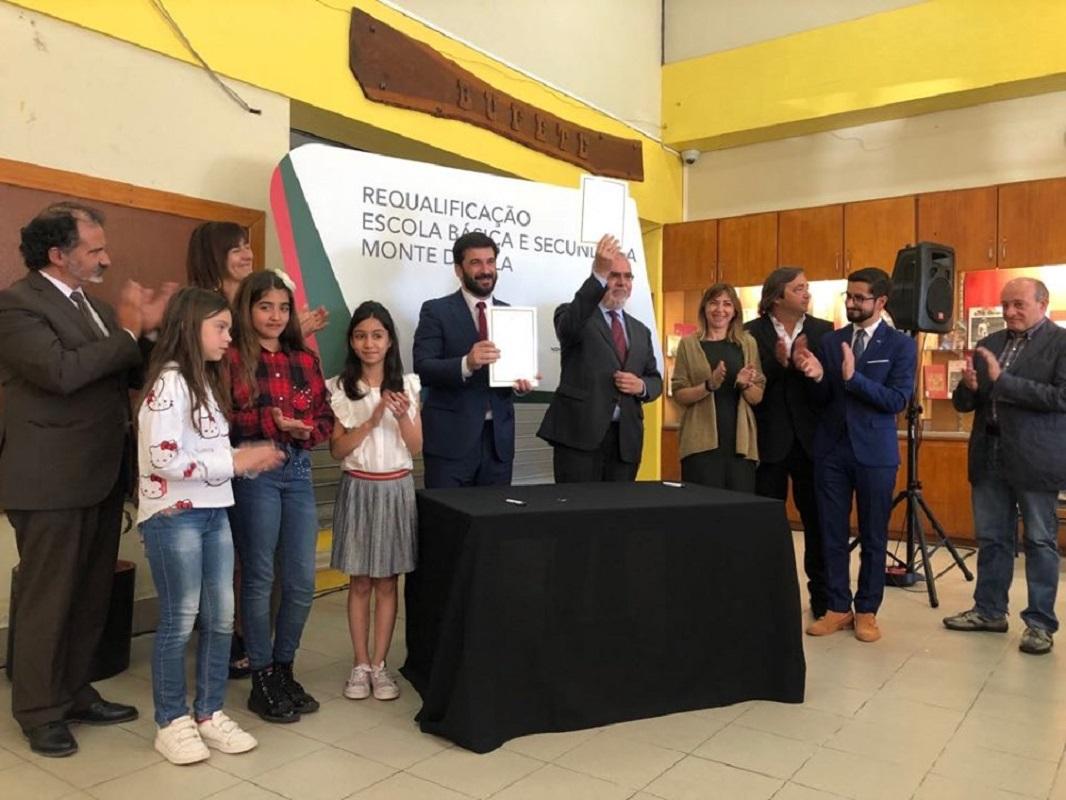 Obras de mais de 1,8 ME na escola do Monte da Ola começam na Páscoa
