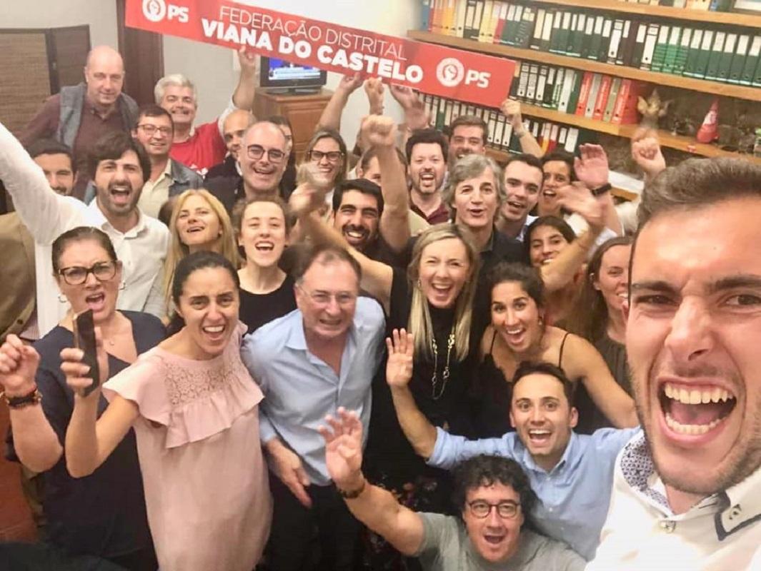PS recupera deputado perdido em 2015 e torna-se no partido mais votado no Alto Minho