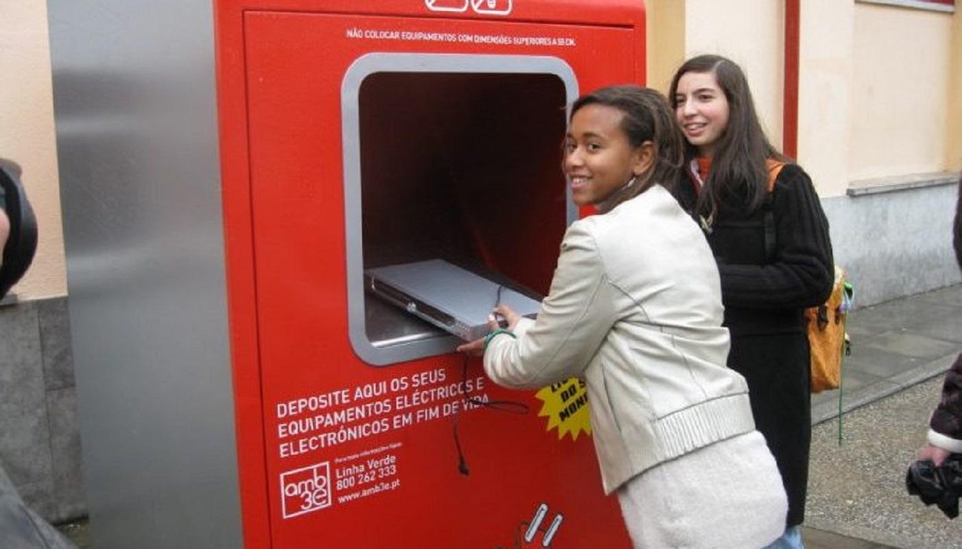 Reciclagem mobiliza mais de 350 escolas de todo o país