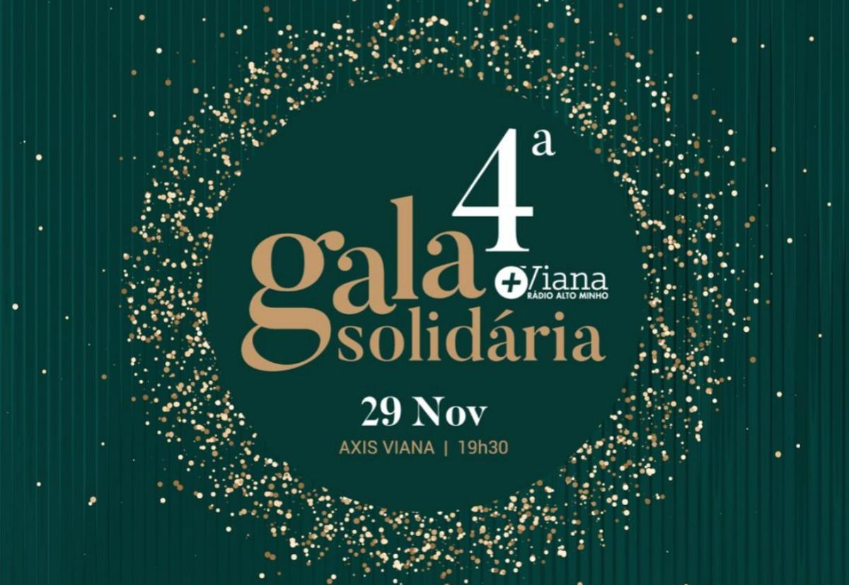 IV Gala Solidária de Viana vai decorrer dia 29 de novembro no Hotel Axis