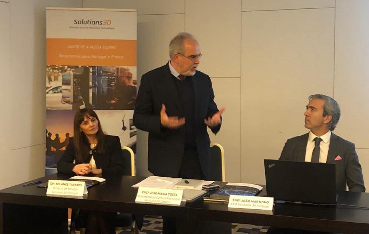 Grupo francês Solutions 30 amplia centro de soluções tecnológicas na zona industrial de Neiva