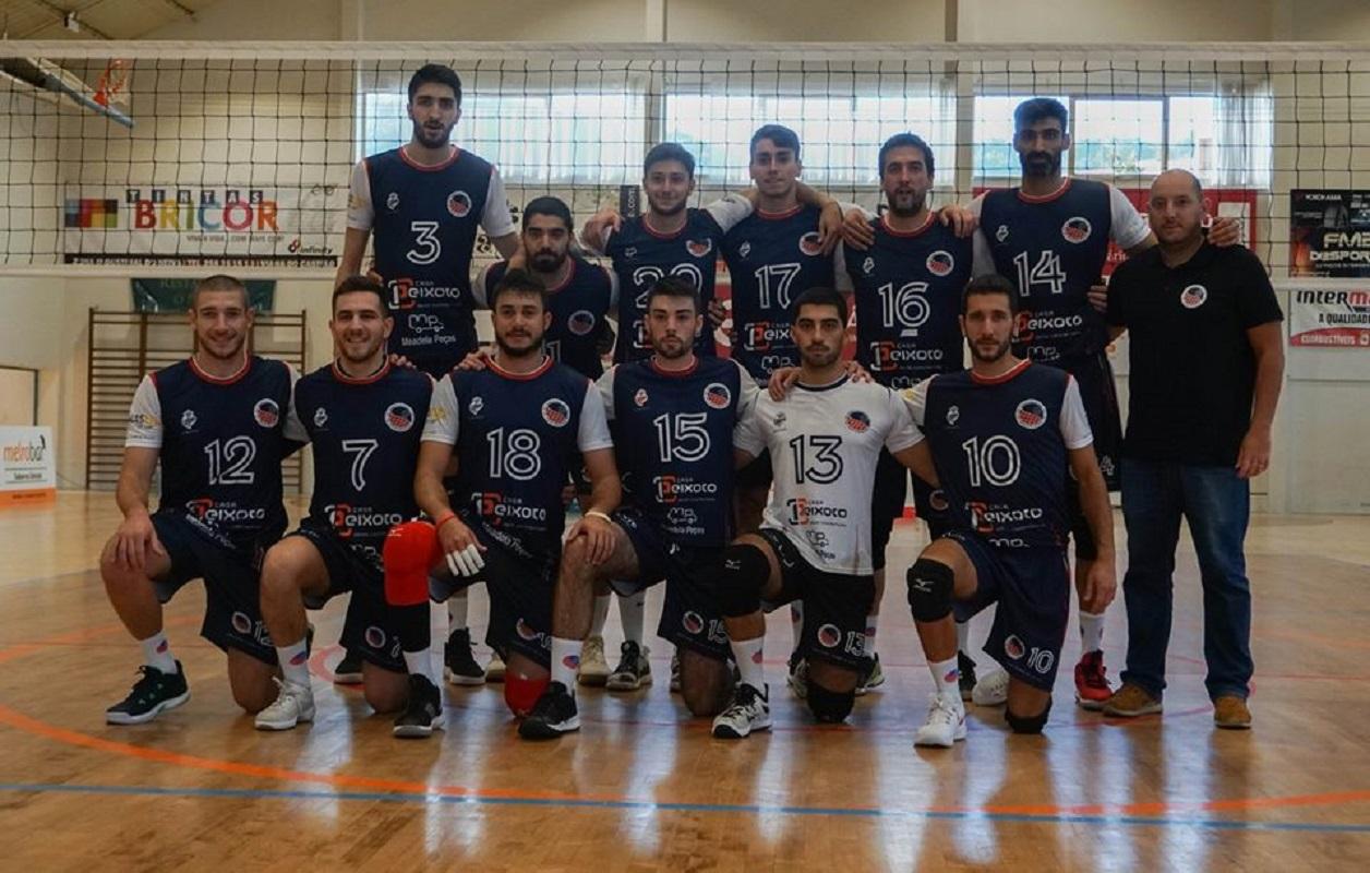 Voleibol Clube Viana perde frente ao Vitória de Guimarães