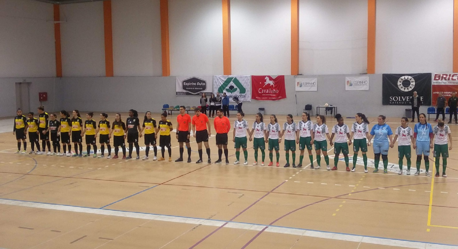 Santa Luzia FC encaixa primeira derrota no Campeonato Nacional de Futsal Feminino