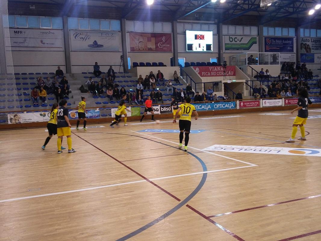 Santa Luzia empata com Póvoa Futsal