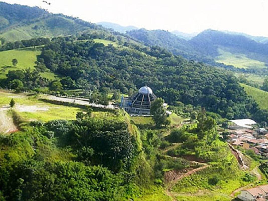 Nossa Senhora da Agonia tem santuário na cidade brasileira de Itajubá