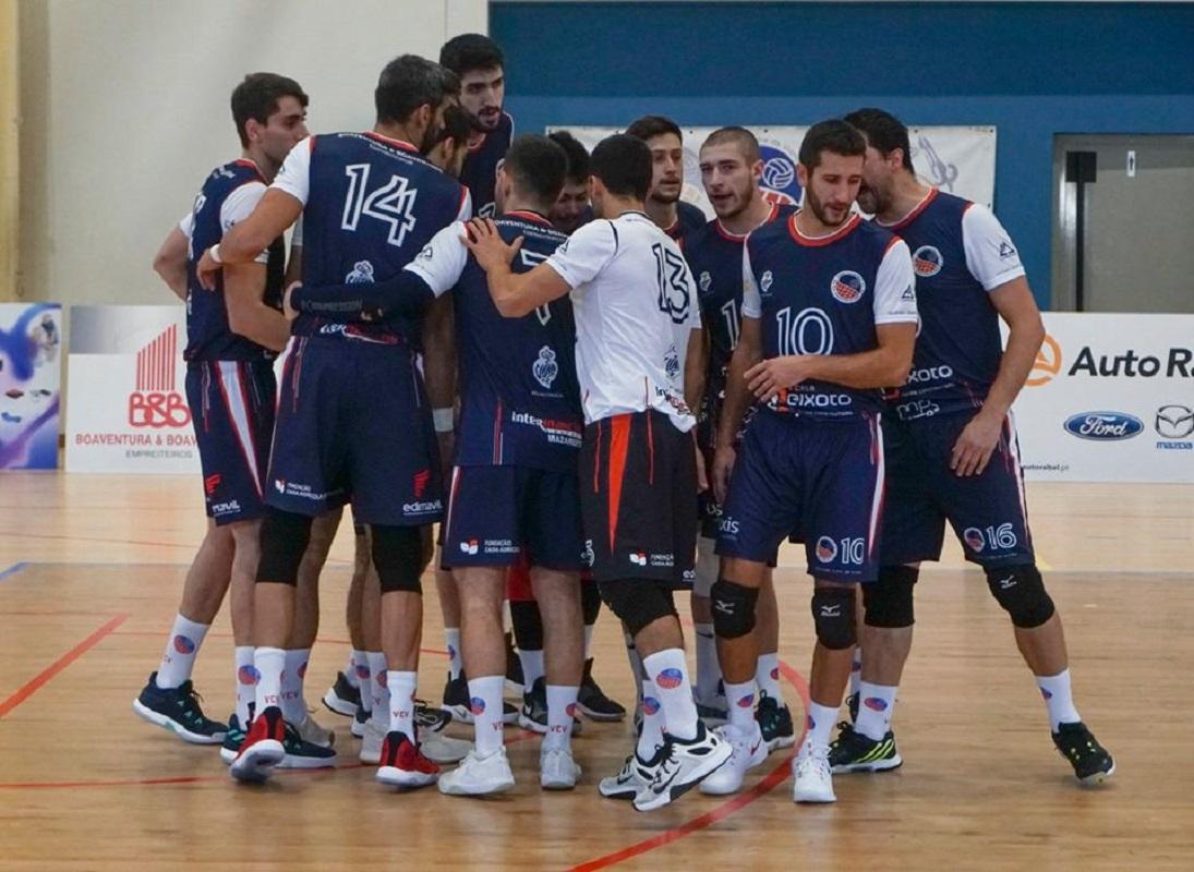 Voleibol Clube Viana vence Clube Nacional de Ginástica
