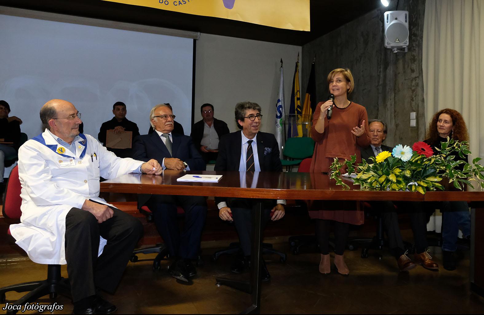 Ministra da Saúde nos 38 anos da Liga dos Amigos do Hospital de Viana do Castelo