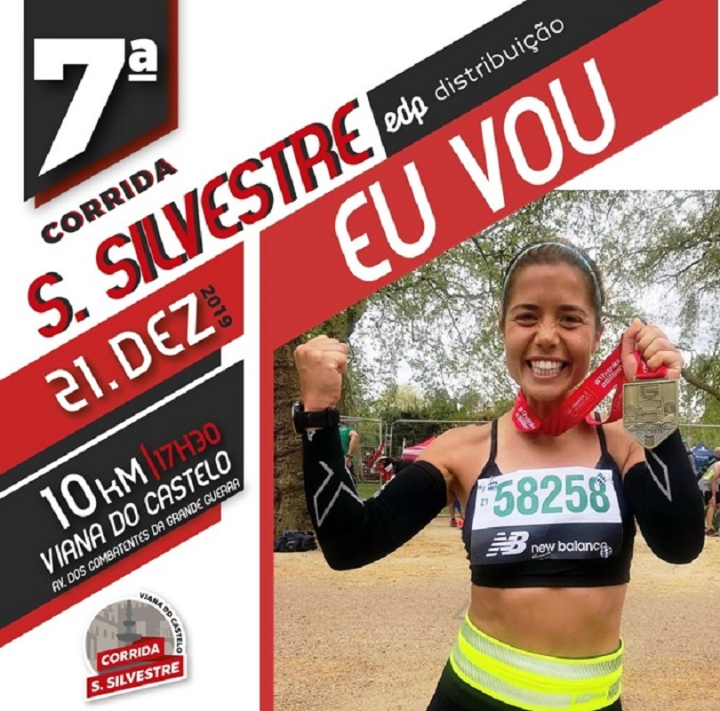 Apresentadora da TVI Isabel Silva na 7ª Corrida de São Silvestre EDP Distribuição