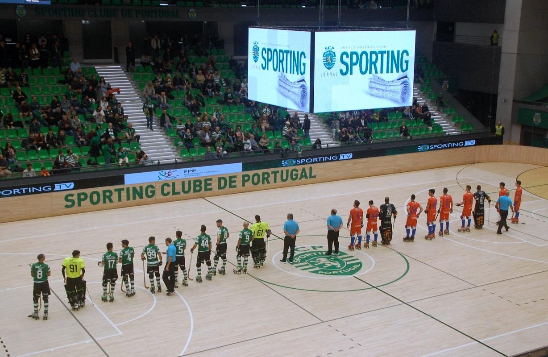 Juventude Viana derrotada pelo Sporting