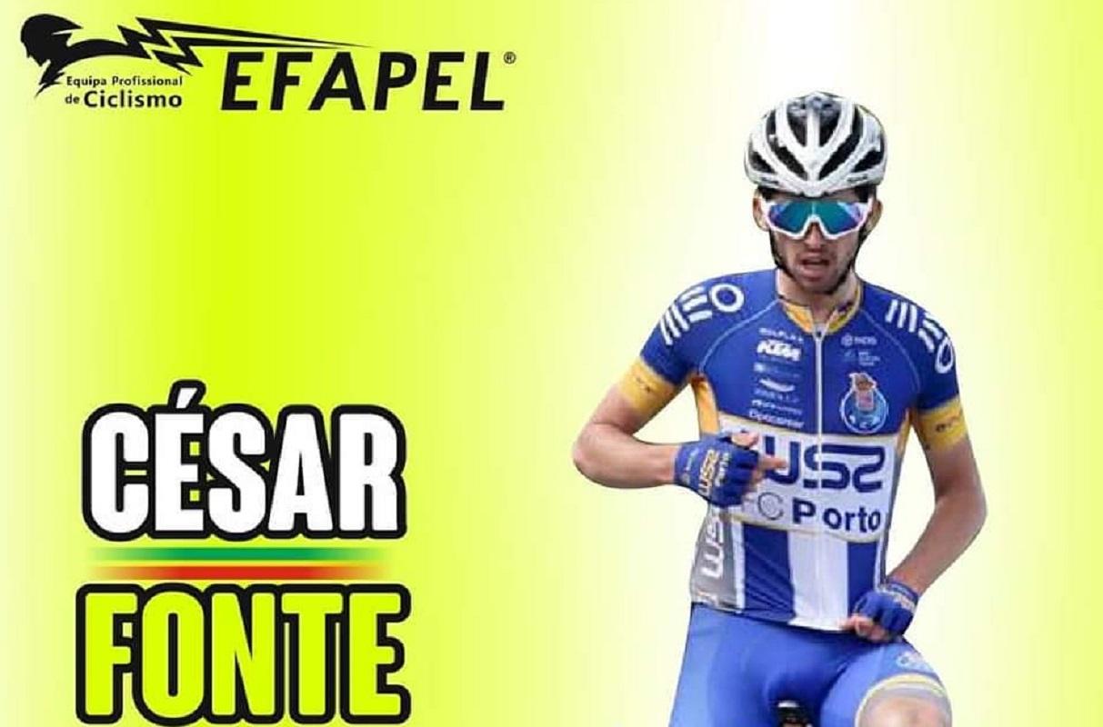 Ciclista de Vila Franca, César Fonte, regressa à Efapel