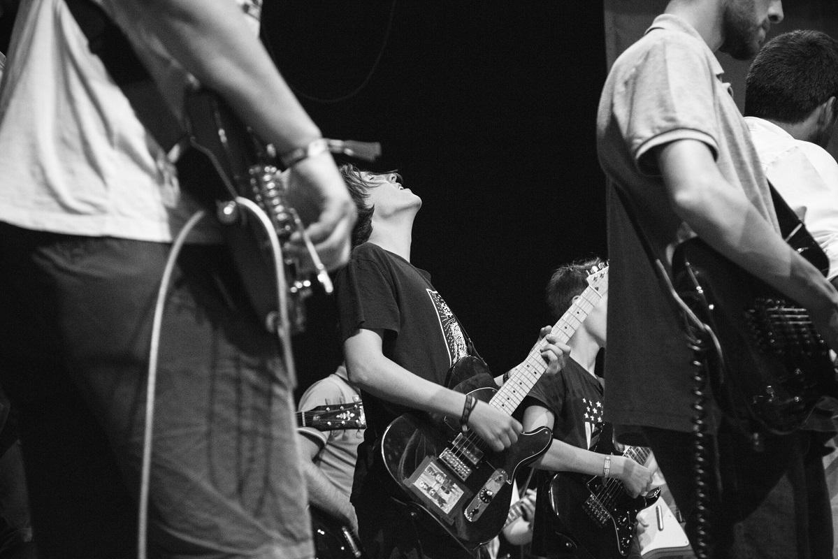 Escola do Rock de Paredes de Coura arranca domingo com 50 alunos e três novas bandas