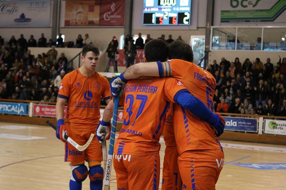 Juventude de Viana volta a empatar FC Porto no campeonato da 1ª divisão de hóquei em patins