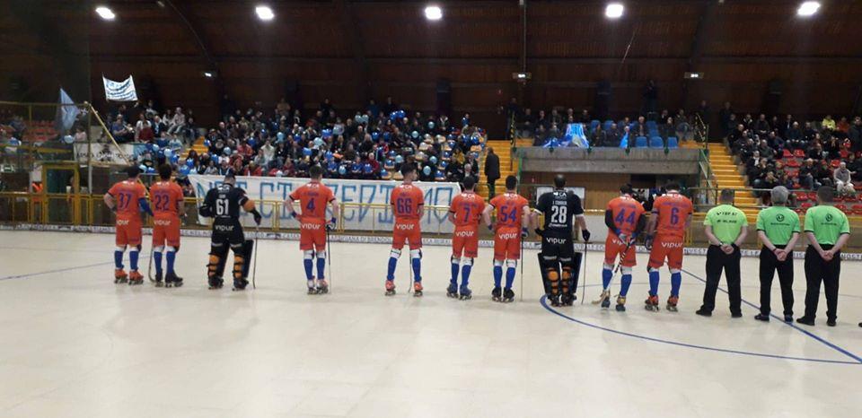 Juventude de Viana afastada dos quartos de final da WS Europe Cup de hóquei em patins