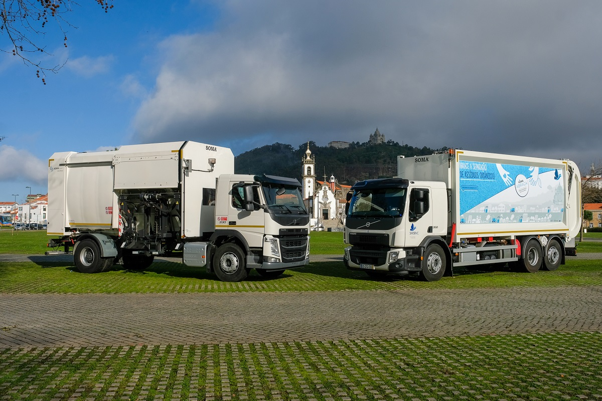 Serviços Municipalizados investem 570 mil euros na aquisição de duas viaturas pesadas para recolha de resíduos