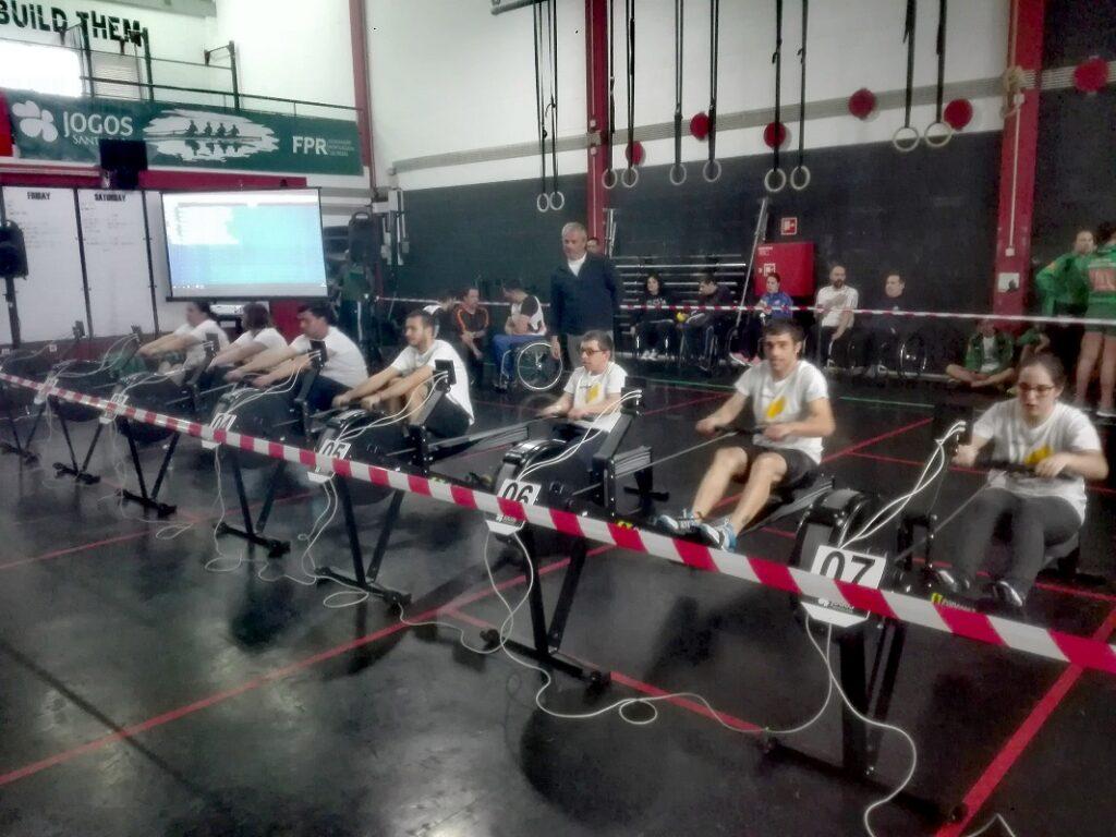 Chuva de Medalhas para a Unidade de Areosa da APPACDM de Viana do Castelo no Campeonato Nacional de Remo Indoor