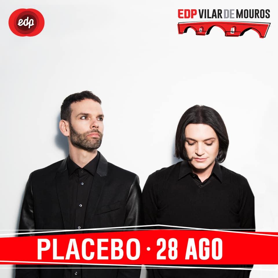 Organização de Vilar de Mouros confirma os britânicos  Placebo no dia 28 agosto