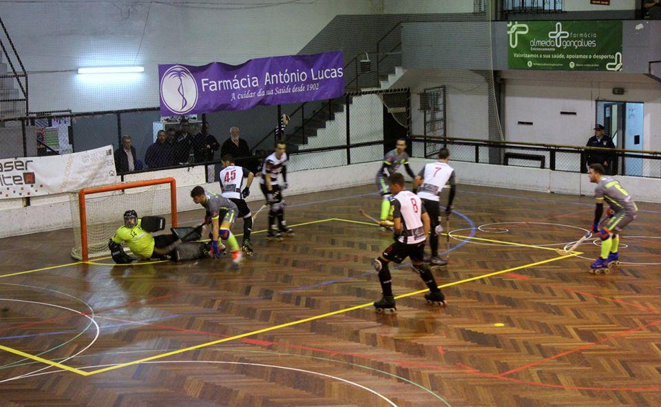 Juventude de Viana vence no Entroncamento e segue em frente na Taça de Portugal de hóquei em patins