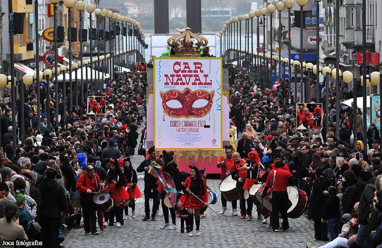 Cerca de 750 foliões participam no domingo no corso carnavalesco de Viana do Castelo