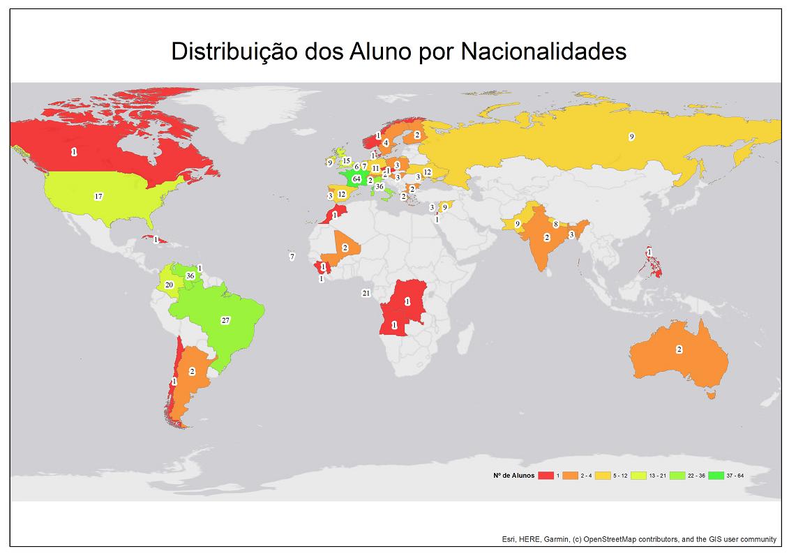 Aulas de Língua Portuguesa promovidas pelo Município abrangeram 389 alunos de 49 nacionalidades