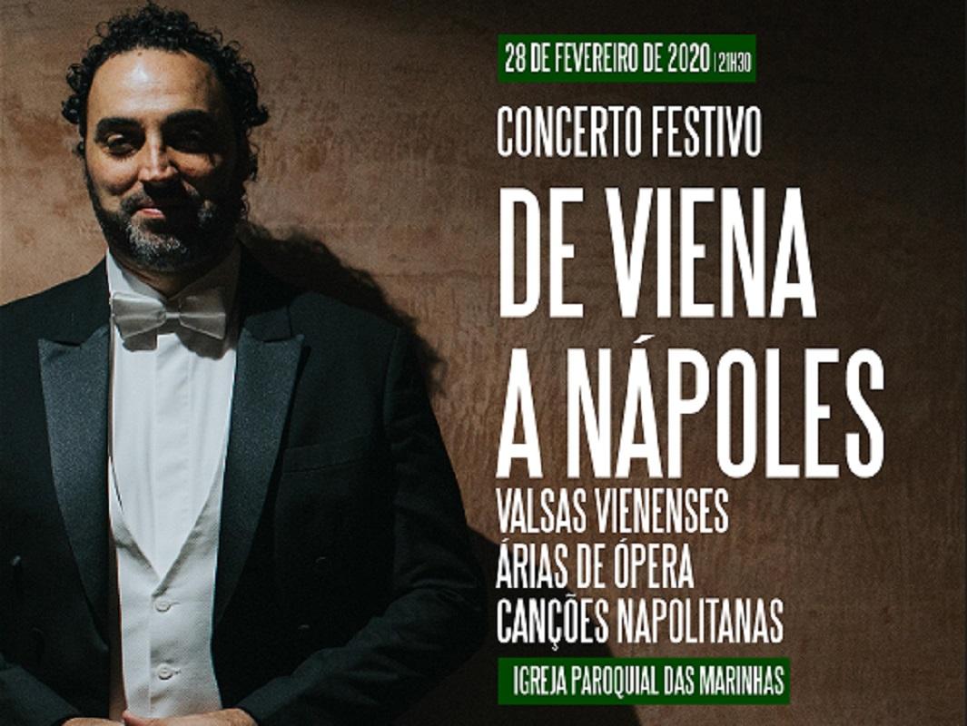 "Concerto festivo ""De Viena a Nápoles"""