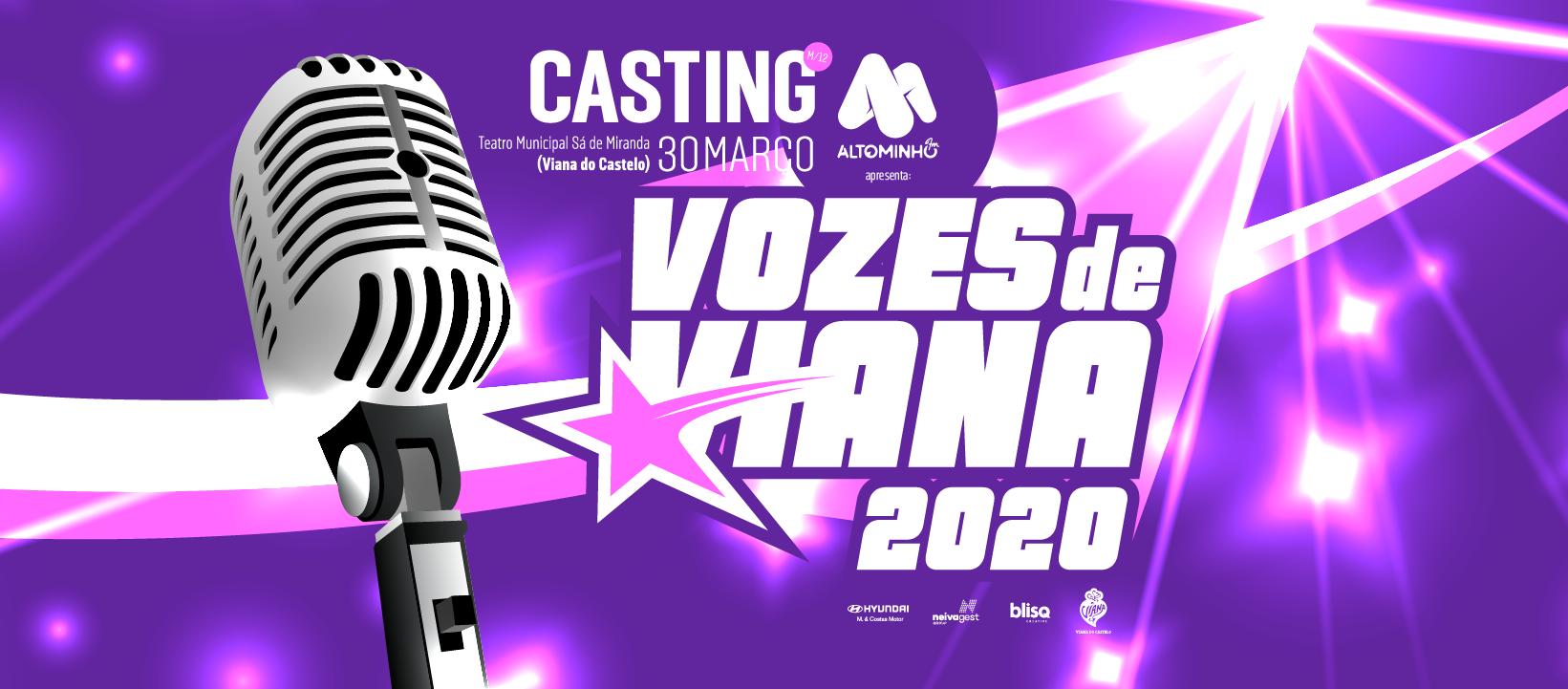 CASTING – VOZES DE VIANA 2020