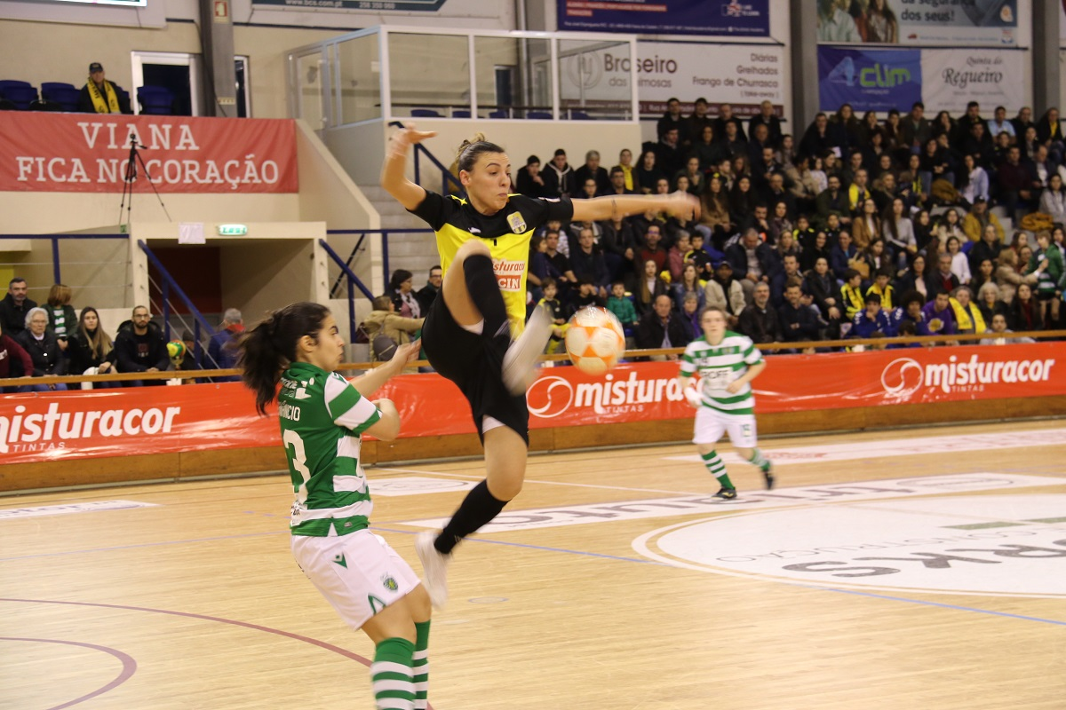 Santa Luzia elimina Sporting e está na final da Taça de Portugal de futsal feminino