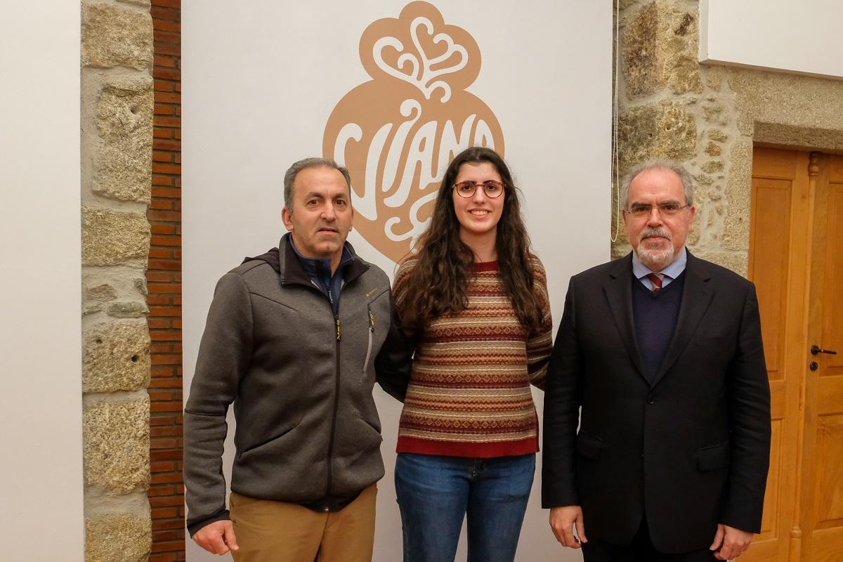 Câmara de Viana apoia esgrimista Carolina Oliveira no apuramento olímpico para Tóquio 2020