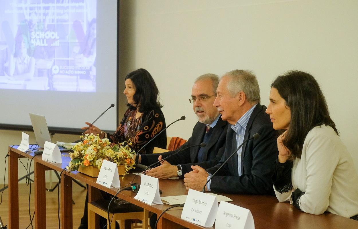 Projetos de ensino desenvolvidos pelo Município de Viana do Castelo e CIM Alto Minho apresentados a especialistas europeus