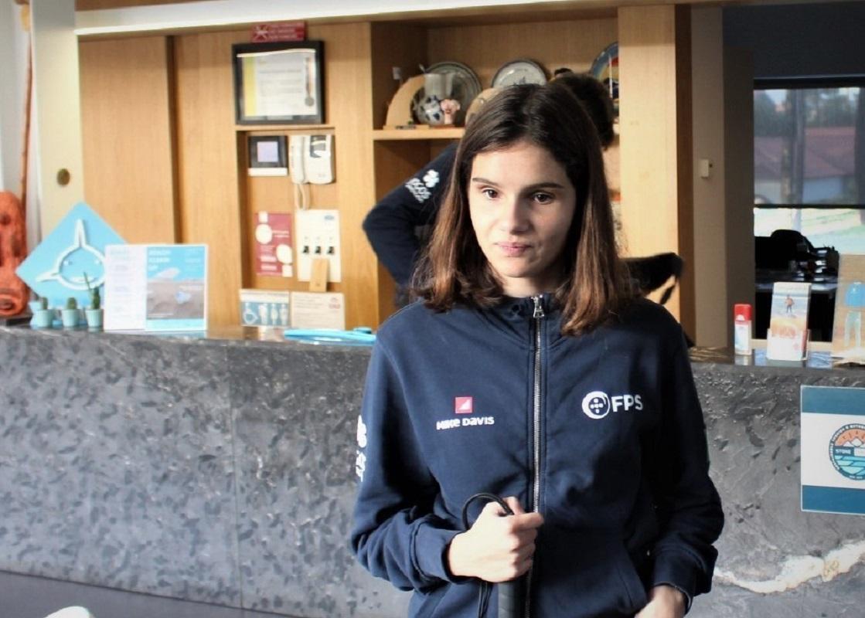 Marta Paço ruma confiante ao Mundial de Para Surfing