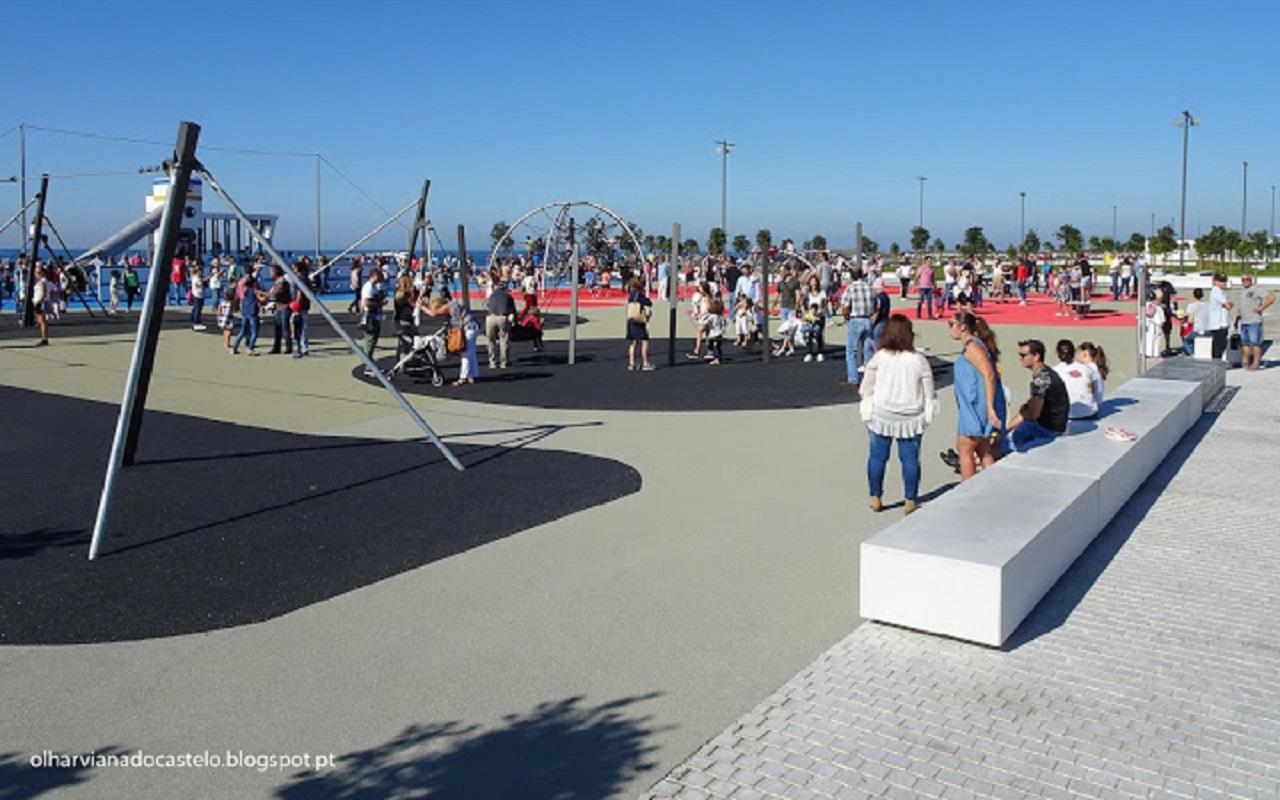 Interdito acesso a zonas de lazer nas Praias Norte e Cabedelo e ao miradouro de Santa Luzia