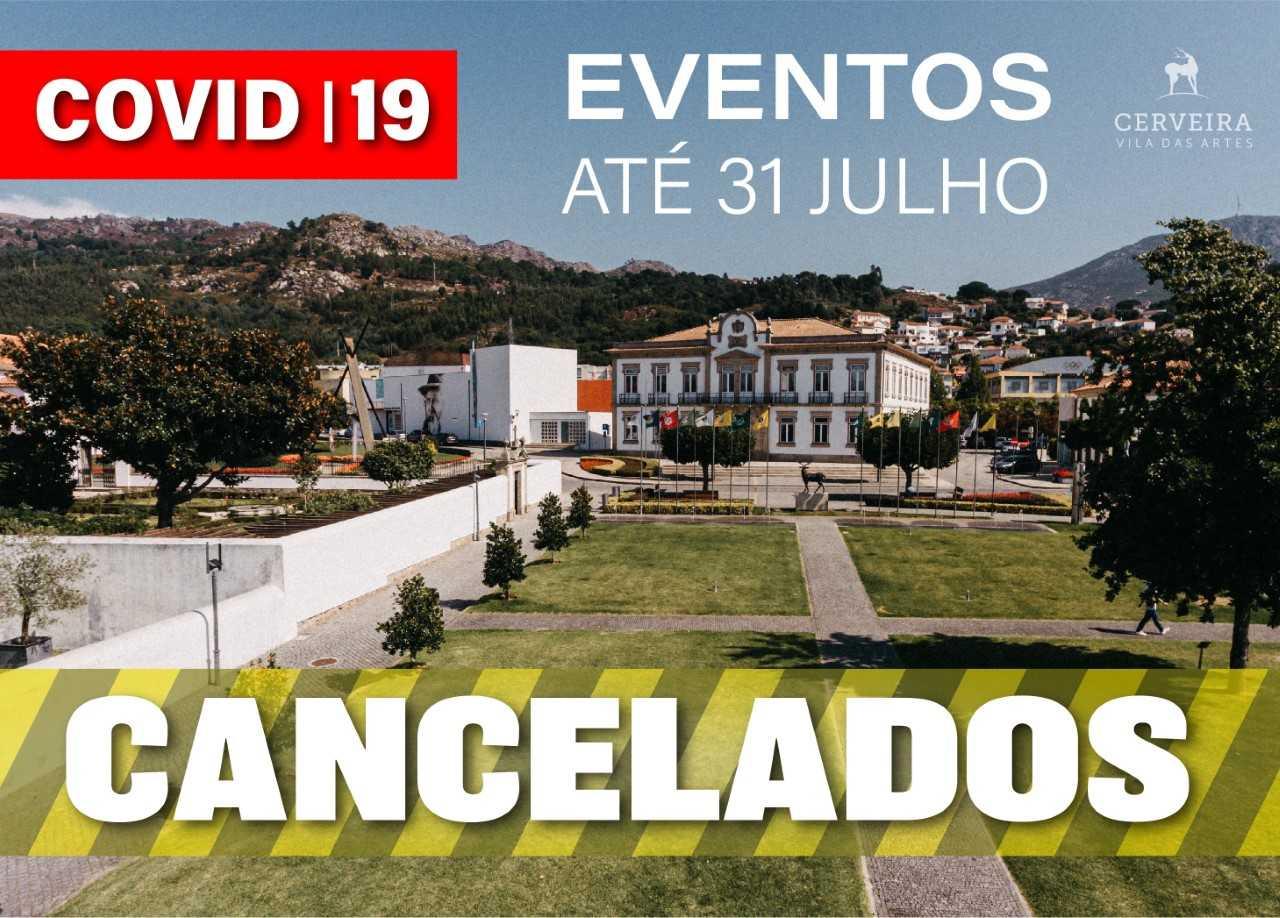 Vila Nova de Cerveira cancela eventos até ao final de julho