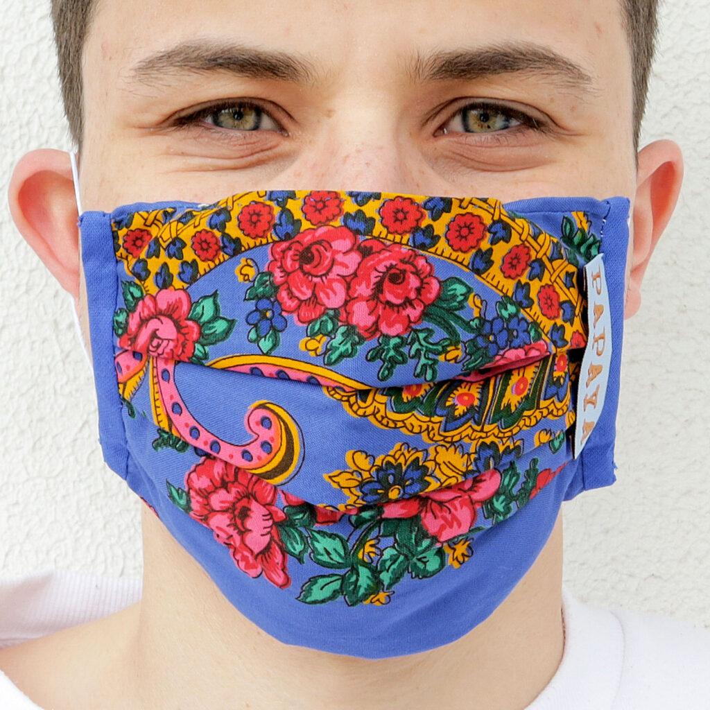 Com vídeo: Vianenses estampam nos rostos de Portugal a tradição minhota através de máscaras de proteção social