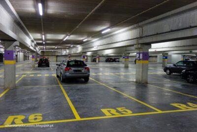 Estacionamento grátis na via pública e no parque do Campo d'Agonia até dezembro